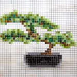 Pixelated Bonsai
