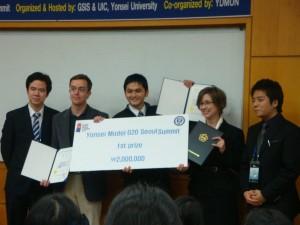 Seoul Model G20 - Winning Team